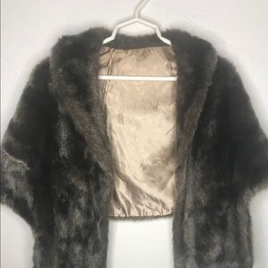Jackets & Blazers - Women's Faux Fur Long Shawl